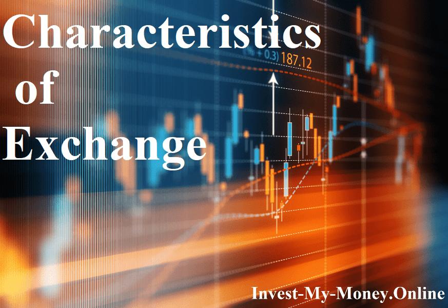 Exchange Market Features